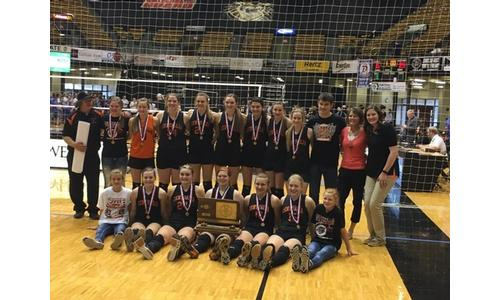 2016 Centralia Panther Volleyball Class 1A-DI State Champs